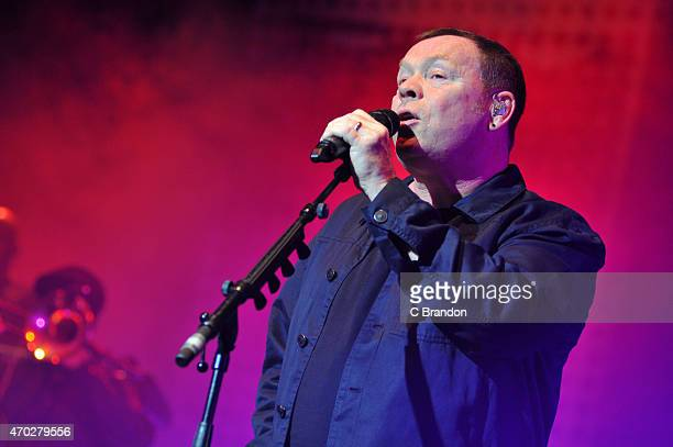 Ali Campbell of UB40 performs on stage at Brixton Academy on April 18 2015 in London United Kingdom