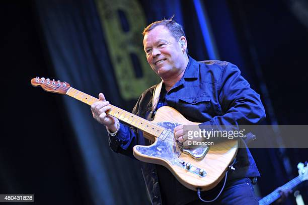 Ali Campbell of UB40 performs on stage during Kew The Music at Kew Gardens on July 11 2015 in London England