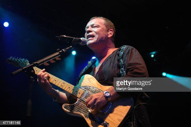 Ali Campbell UB40 perform on stage at Koh Samui Festival Thailand September 2005