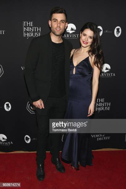 Ali Cobrin and guest attend the Red Carpet screening of 'Vows of Deceit' by The Ninth House and MarVista Entertainment on March 18 2018 in Sherman...