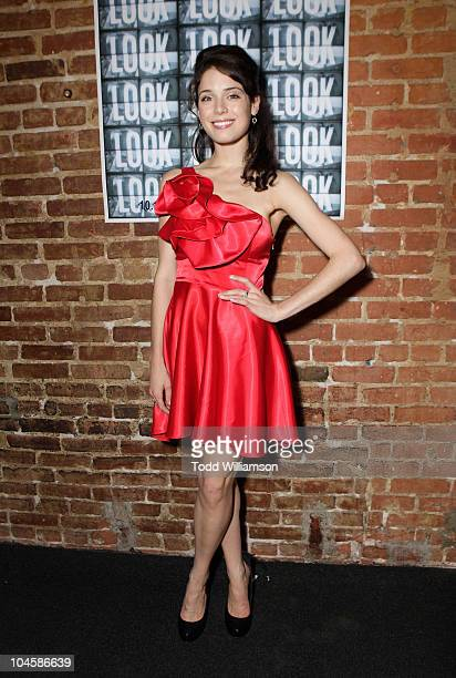 Ali Cobrin attend the 'LOOK' series premiere at Cinespace on September 30 2010 in Los Angeles California