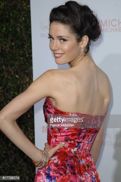 Ali Cobrin attends '8th Annual Teen Vogue Young Hollywood Party' for Red Carpet at Paramount Studios on October 1 2010 in Hollywood California