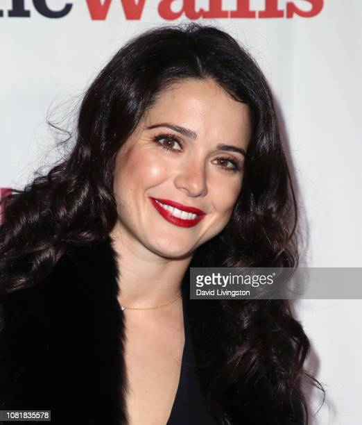 Ali Cobrin attends the 'Love Actually Live' opening night reception at the Wallis Annenberg Center for the Performing Arts on December 12 2018 in...