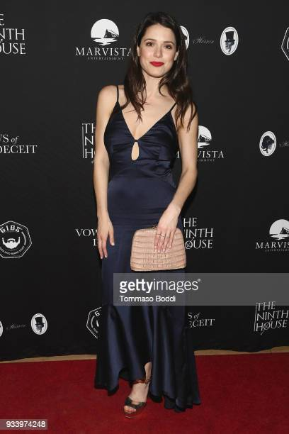 Ali Cobrin attends the Red Carpet screening of 'Vows of Deceit' by The Ninth House and MarVista Entertainment on March 18 2018 in Sherman Oaks...