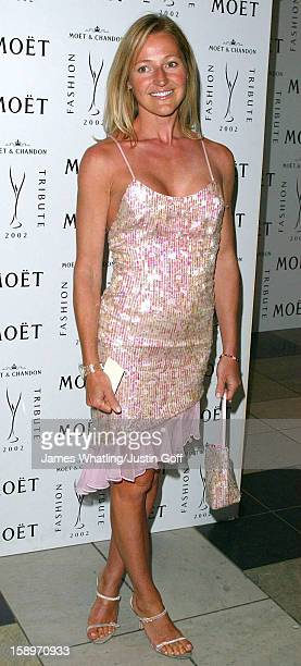 Ali Cockayne Attends A 'Moet Chandon Philip Treacy Fashion Tribute' At London'S Victoria And Albert Museum