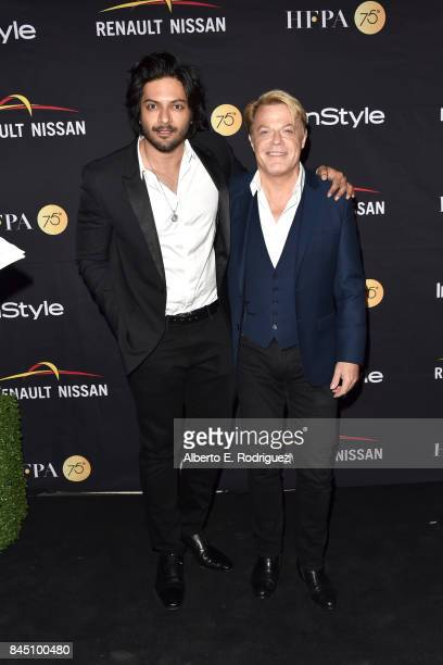 Ali Fazal and Eddie Izzard attend the HFPA InStyle annual celebration of 2017 Toronto International Film Festival at Windsor Arms Hotel on September...