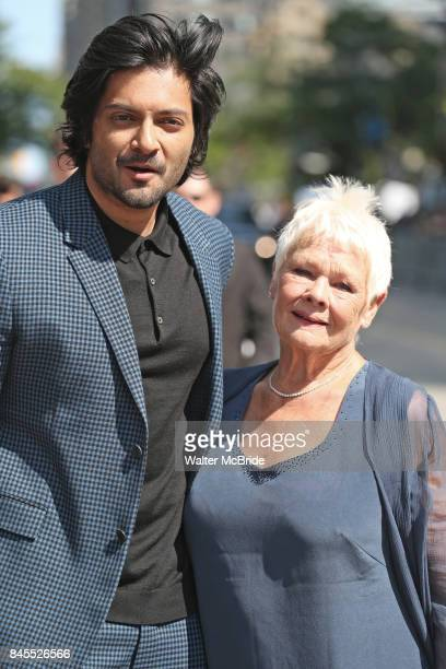 Ali Fazal and Judi Dench attend the 'Victoria & Abdul' premiere during the 2017 Toronto International Film Festival at Princess of Wales Theatre on...