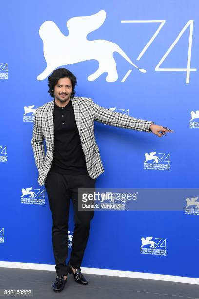 Ali Fazal attends the 'Victoria & Abdul And Jaeger-LeCoultre Glory To The Filmaker Award 2017' Cinema photocall during the 74th Venice Film Festival...