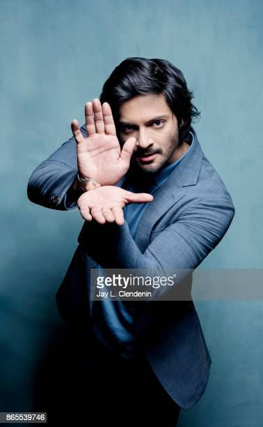"""Ali Fazal from the film, """"Victoria & Abdul,"""" pose for a portrait at the 2017 Toronto International Film Festival for Los Angeles Times on September..."""