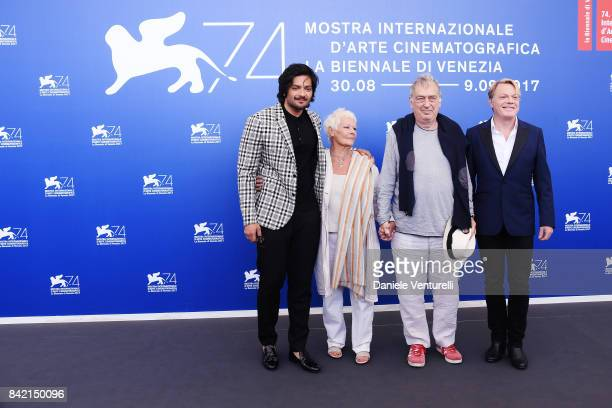 Ali Fazal, Judi Dench, Stephen Frears and Eddie Izzard attend the 'Victoria & Abdul And Jaeger-LeCoultre Glory To The Filmaker Award 2017' photocall...