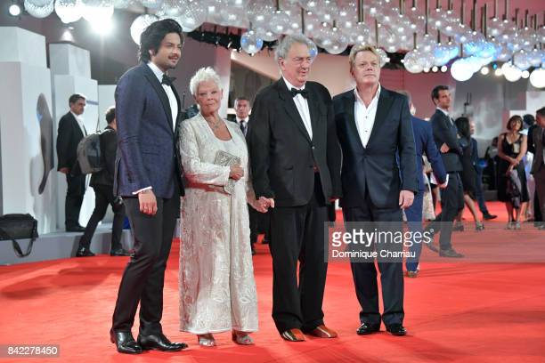 Ali Fazal Judi Dench Stephen Frears and Eddie Izzard walk the red carpet ahead of the 'Victoria Abdul' screening And JaegerLeCoultre Glory To The...