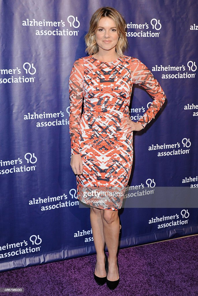 Ali Fedotowsky arrives at the 23rd Annual 'A Night At Sardi's' To Benefit The Alzheimer's Association at The Beverly Hilton Hotel on March 18, 2015 in Beverly Hills, California.