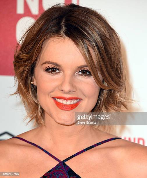 Ali Fedotowsky arrives at the MAC Cosmetics And The MAC AIDS Fund Present Worldwide Premiere Of 'It's Not Over' at Quixote Studios on November 18...