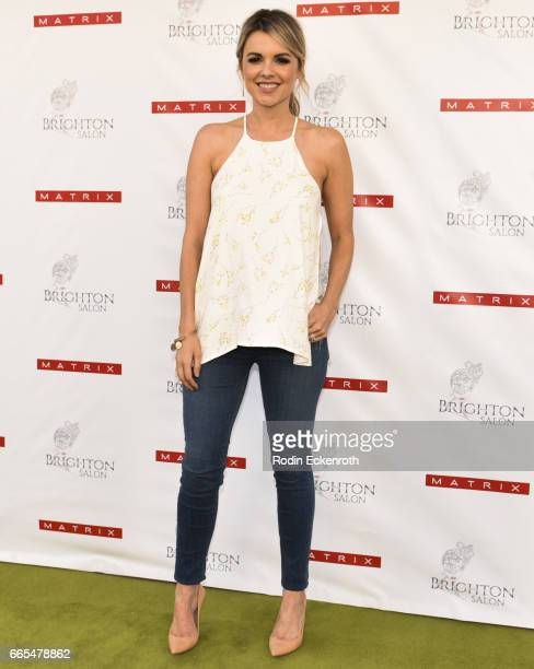 Ali Fedotowsky celebrates the launch of Matrix Biolage RAW at Brighton Salon on April 6 2017 in Beverly Hills California