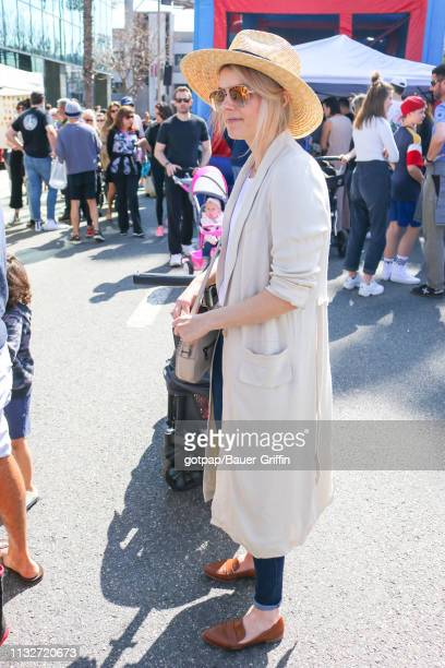 Ali Fedotowsky is seen on March 24 2019 in Los Angeles California