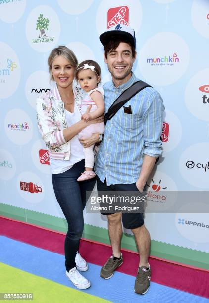 Ali Fedotowsky Molly Manno and Kevin Manno at Step 2 Presents 6th Annual Celebrity Red CARpet Safety Awareness Event on September 23 2017 in Culver...