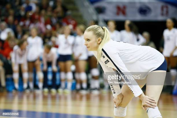 Ali Frantti of Penn State University during the Division I Women's Volleyball Semifinals held at Sprint Center on December 14 2017 in Kansas City...