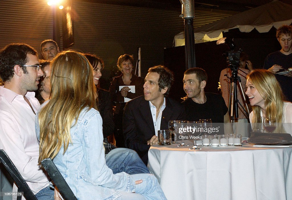 Ali G., Ben Stiller & Christine Taylor *Exclusive*