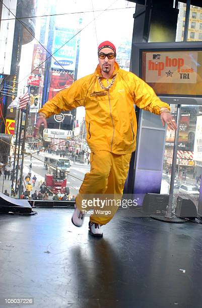 """Ali G during Bruce Willis, Ali G and Cam'ron Visit MTV's """"TRL"""" - February 27, 2003 at MTV Studios- Times Square in New York City, New York, United..."""