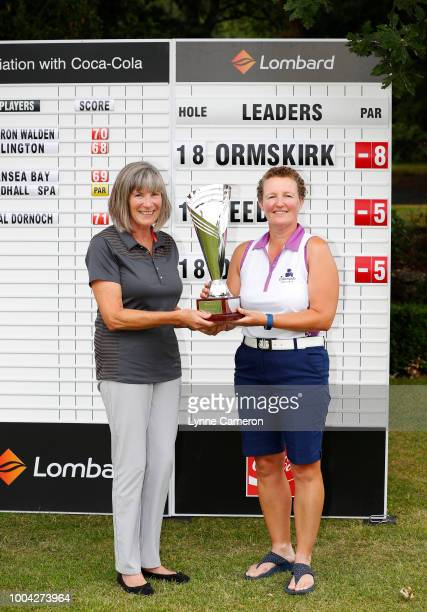 Laura Harvey and Sam Cairns from Darlington Golf Club during The WPGA Lombard Trophy North Qualifier at Dunham Forest Golf and Country Club on July...
