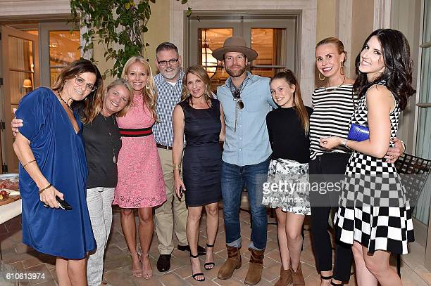 Ali Harnell Liz Rose Shannon Rotenburg Eric Long Jenny Belushi Drake White Ava Croxall Natasha Croxall and Alana Grace attend the All For The Hall...