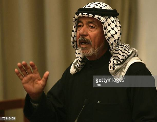 Ali Hassan alMajid Saddam's cousin and alleged planner of Anfal also known as 'Chemical Ali' discusses prosecution evidence during the 'Anfal'...