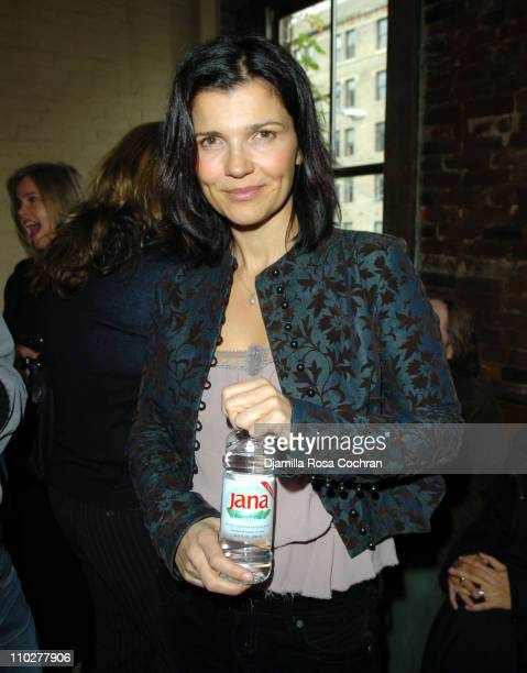 Ali Hewson during Ali Hewson and Rogan Gregory Present a Preview of EDUN Spring Summer 2006 at 5 Ninth in New York New York United States