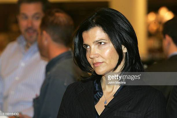 Ali Hewson during Launch of the new ONE tshirt by Edun September 20 2006 at Nordstrom in San Fransisco CA United States