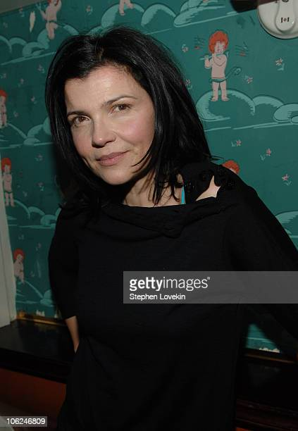 Ali Hewson during MercedesBenz Fashion Week Fall 2007 Edun Presentation and After Party at The Box in New York City New York United States
