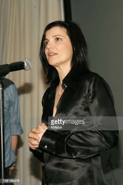 Ali Hewson during Saks Fifth Avenue and Bono Host Launch of EDUN March 11 2005 at Saks Fifth Ave in New York City New York United States