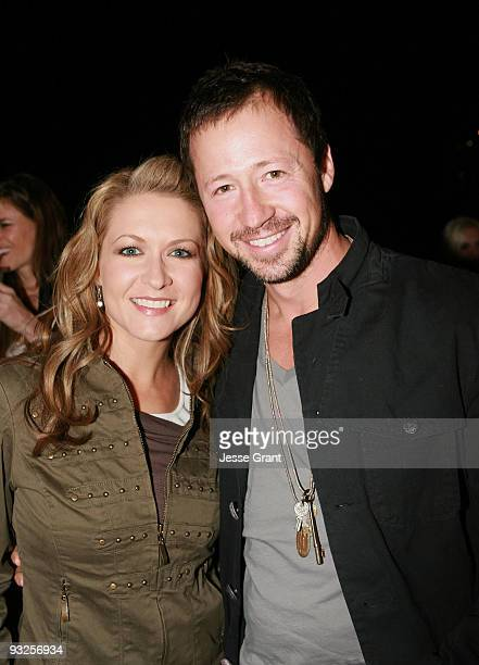 Ali Hillis and alternative Apparel owner Greg Alterman attend the Alternative Apparel Launch of ReThink Vol 2 at Petit Ermitage Hotel on November 19...