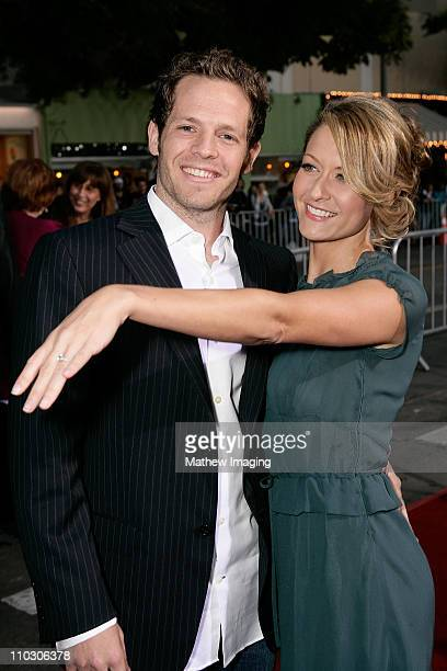 Ali Hillis and guest at the premiere of 'The Heartbreak Kid' at Mann's Village Theater on September 27 2007 in Westwood California