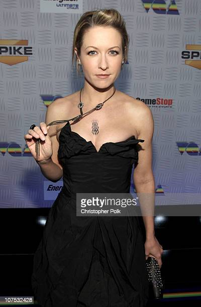 Ali Hillis arrives at Spike TV's '2010 Video Game Awards' held at the LA Convention Center on December 11 2010 in Los Angeles California