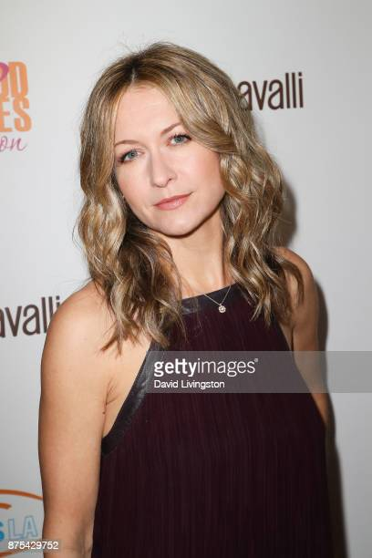 Ali Hillis arrives at the Lupus LA 15th Annual Hollywood Bag Ladies Luncheon at The Beverly Hilton Hotel on November 17 2017 in Beverly Hills...