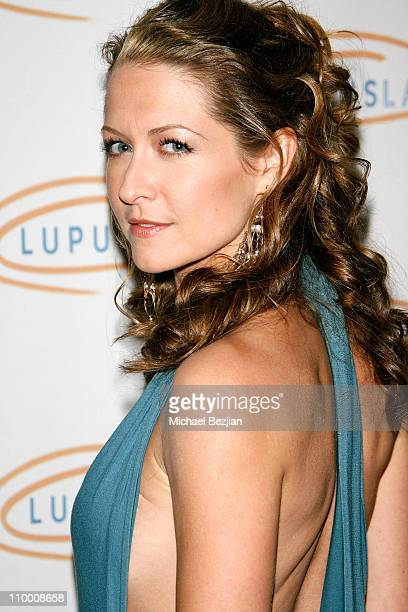 Ali Hillis arrives at the Lupus LA's 2008 Orange Ball on May 1 2008 at The Beverly Wilshire in Beverly Hills California