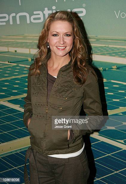 Ali Hillis attends the Alternative Apparel Launch of ReThink Vol 2 at Petit Ermitage Hotel on November 19 2009 in West Hollywood California