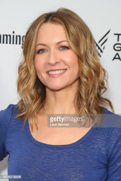 Ali Hillis attends The Game Awards 2018 Arrivals at Microsoft Theater on December 06 2018 in Los Angeles California