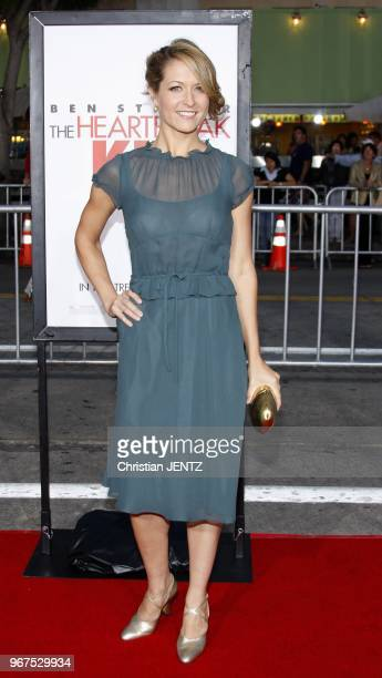 Ali Hillis attends the Los Angeles Premiere of 'The Heartbreak Kid' held at the Mann Village Theater in Westwood California United States