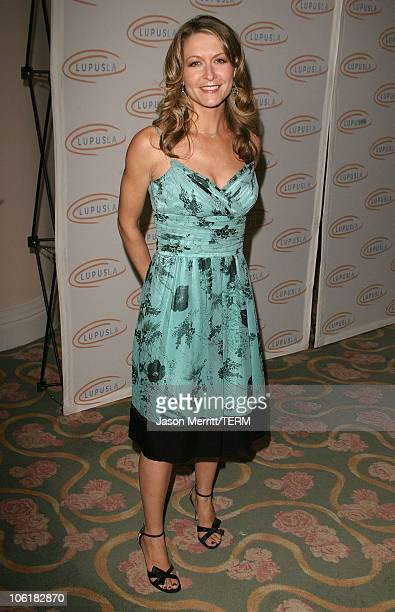 Ali Hillis during Love Light and Laughter to Lupus LA at Beverly Hills Hotel in Beverly Hills California United States