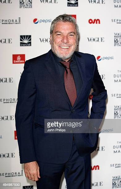 Ali Jaber attends the Gala event during the Vogue Fashion Dubai Experience 2015 at Armani Hotel Dubai on October 30 2015 in Dubai United Arab Emirates