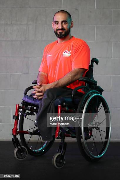 Ali Jawad poses during a Team England media opportunity ahead of the 2018 Gold Coast Commonwealth Games at Studio 99 Fitness centre on March 29 2018...