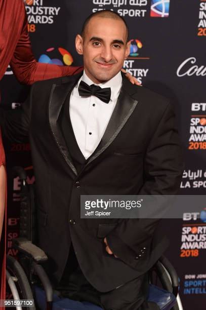 Ali Jawad poses during the BT Sport Industry Awards 2018 at Battersea Evolution on April 26 2018 in London England The BT Sport Industry Awards is...