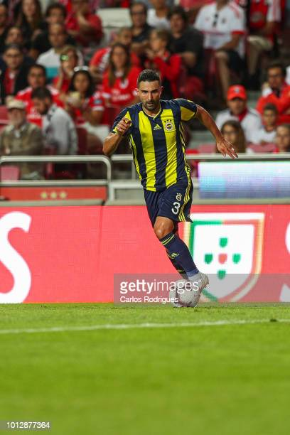 Ali Kaldirim of Fenerbache SK during the match between SL Benfica and Fenerbache SK for UEFA Champions League Qualifier at Estadio da Luz on August 7...