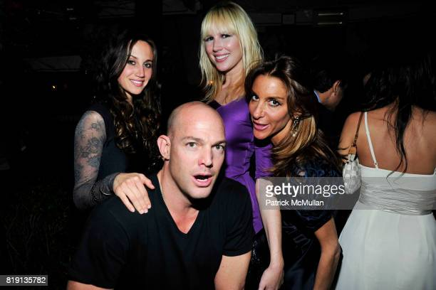 Ali Kay Alex von Furstenberg Ashley Shelton Dori Cooperman attend NICOLAS BERGGRUEN's 2010 Annual Party at the Chateau Marmont on March 3 2010 in...
