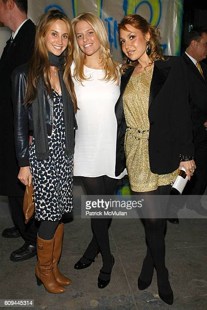 Ali Kay Ali Wise and Fabiola Beracasa attend CALVIN KLEIN Global Launch of ckIN2U Fragrances Hosted by Sienna Miller and Kevin Zegers at 313 West...