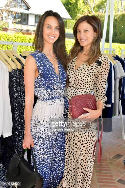 Ali Kay and Norah Weinstein attend Stella McCartney HEART Brunch 2018 at Private Residence on April 11 2018 in Los Angeles California