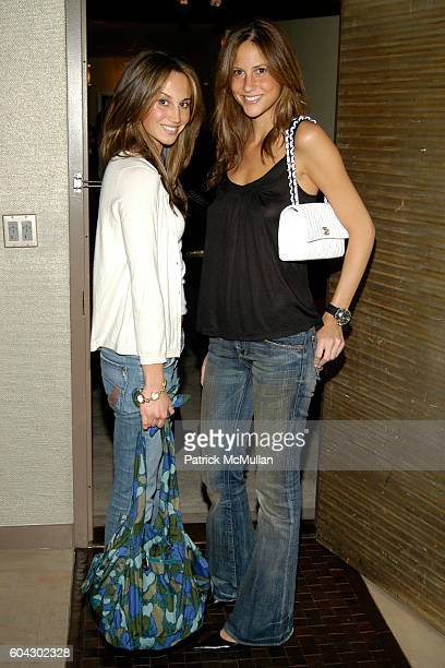 Ali Kay and Tanya Serure attend THE CINEMA SOCIETY and PIAGET Present the NY Premiere of 'ASK THE DUST' Afterparty at Soho Grand Hotel on March 9...