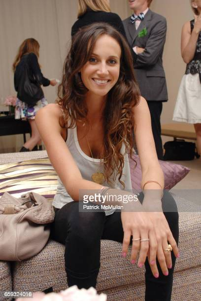 Ali Kay attends CHANEL Party for Amanda Brooks Book 'I LOVE YOUR STYLE' at CHANEL Boutique on September 23 2009 in Los Angeles California
