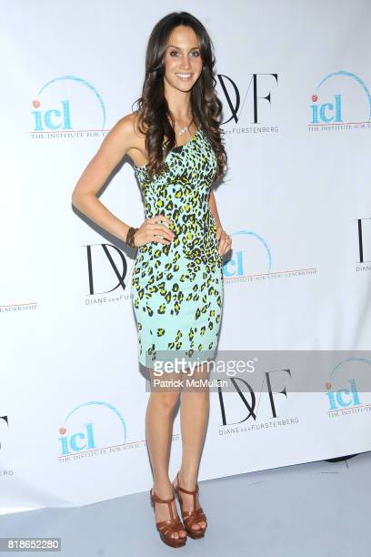 Ali Kay attends INSTITUTE FOR CIVIC LEADERSHIP 2010 Spring Benefit at DVF Studio on June 15 2010 in New York City