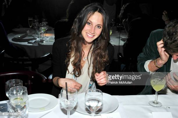 Ali Kay attends LARRY GAGOSIAN hosts a Private Dinner for the ANDREAS GURSKY Opening Exhibition at GAGOSIAN GALLERY at Mr Chow on March 4 2010 in...